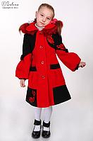 """Зимнее пальто для девочки """"Кристина"""""""