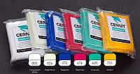 Полимерная глины Цернит Cernit (Бельгия) 56 г. Translucent сапфир полупрозрачный 275