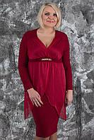 Женское нарядное платье больших размеров, разные цвета