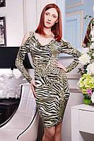 Женское леопардовое платье, разные цвета