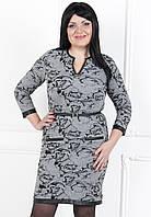 Женское модное платье осень 2014