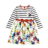 Детское платье в полоску