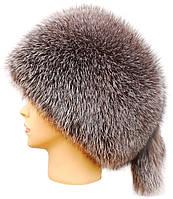 Меховая шапка из меха блюфроста,Пилотка (серебро)