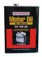 Моторное масло для дизеля TOYOTA SN/CF 5W-30 (Japan) 4L