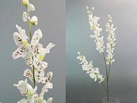 Цветок искусственный белая орхидея