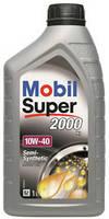 Моторное полусинтетическое масло Mobil Super 2000 GSP 10W40 1L