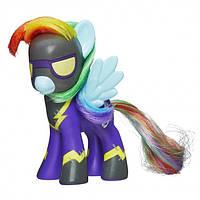 My Little Pony Колекційна поні Рейбоу Деш 'Rainbow Dash as Shadowbolt', що світиться в темряві, ексклюзив