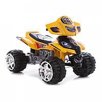 Детский электромобиль квадроцикл Bambi ZP 5118  Желтый