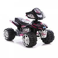 Детский электромобиль квадроцикл Bambi ZP 5118 - Черный с розовым