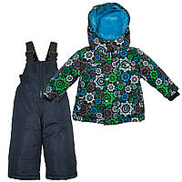 Зимний костюм для мальчика Zingaro by Gusti ZWB 4867 TOTAL ECLIPSE. Размер 92, 98, 104 и 122.