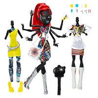 Кукла  Монстер Хай Вайдона Спайдер Вебарелла Я люблю моду (Monster High Wydowna Spider Webarella)