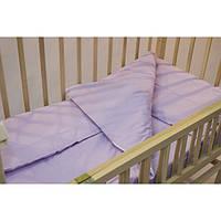 Комплект детского постельного белья однотонный