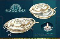 Мармит керамический Madonna прямоугольный 2,5 л/(без ложки) BH-1139