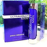 Мужская туалетная вода Paco Rabanne Ultraviolet Man EDT 100 ml (Бельгия, Европа 🇪🇺)