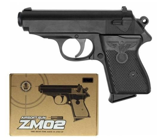 Детский Пистолет Cyma ZM02 с пульками