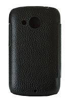 Чехол Melkco Leather Case Jacka Black for HTC Desire C A320e