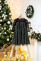 Черное праздничное платье для девочки