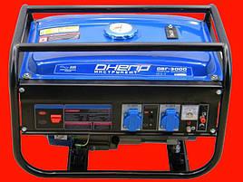 Бензиновый генератор на 2,5 кВт Днепр ДБГ-3000
