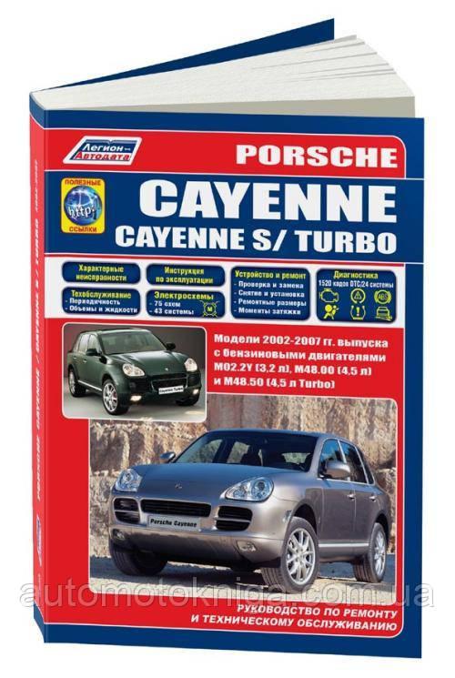 PORSCHE CAYENNE.  Модели 2002-2007 гг.   Руководство по ремонту и техническому обслуживанию