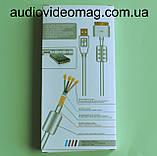 Кабель USB штекер 30pin Apple Dock для iPhone 4, довжина 1,5 метра, фото 3
