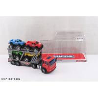 Трейлер машина-транспортер инерционный8268-202/4 (72шт/2) 2 вида,  под слюдой 32*18*9  см.