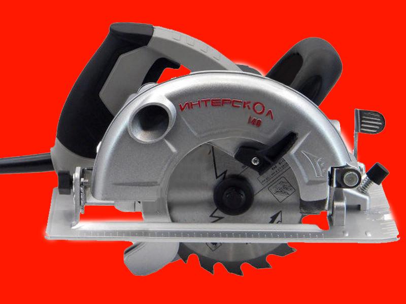 Дисковая пила 0.8 кВт 140 мм Интерскол ДП-140/800