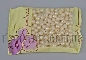 Намисто кремові перл. 8 мм 50 гр. АВ42