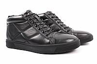 Ботинки мужские Lido Marinozzi натуральная кожа, цвет черный (платформа, комфорт, весна\осень)