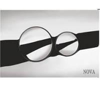 Кнопка для инсталляции круглая хромированная Nova 7312 (Турция)