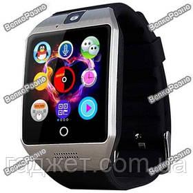 Смарт часы Умные часы Smart Watch Q18 черного цвета+ коробка. Smart Watch Q18 Black