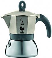 Гейзерна кавоварка золото, 3 чашки (180 мл) Moka Express Induction Bialetti 0004832