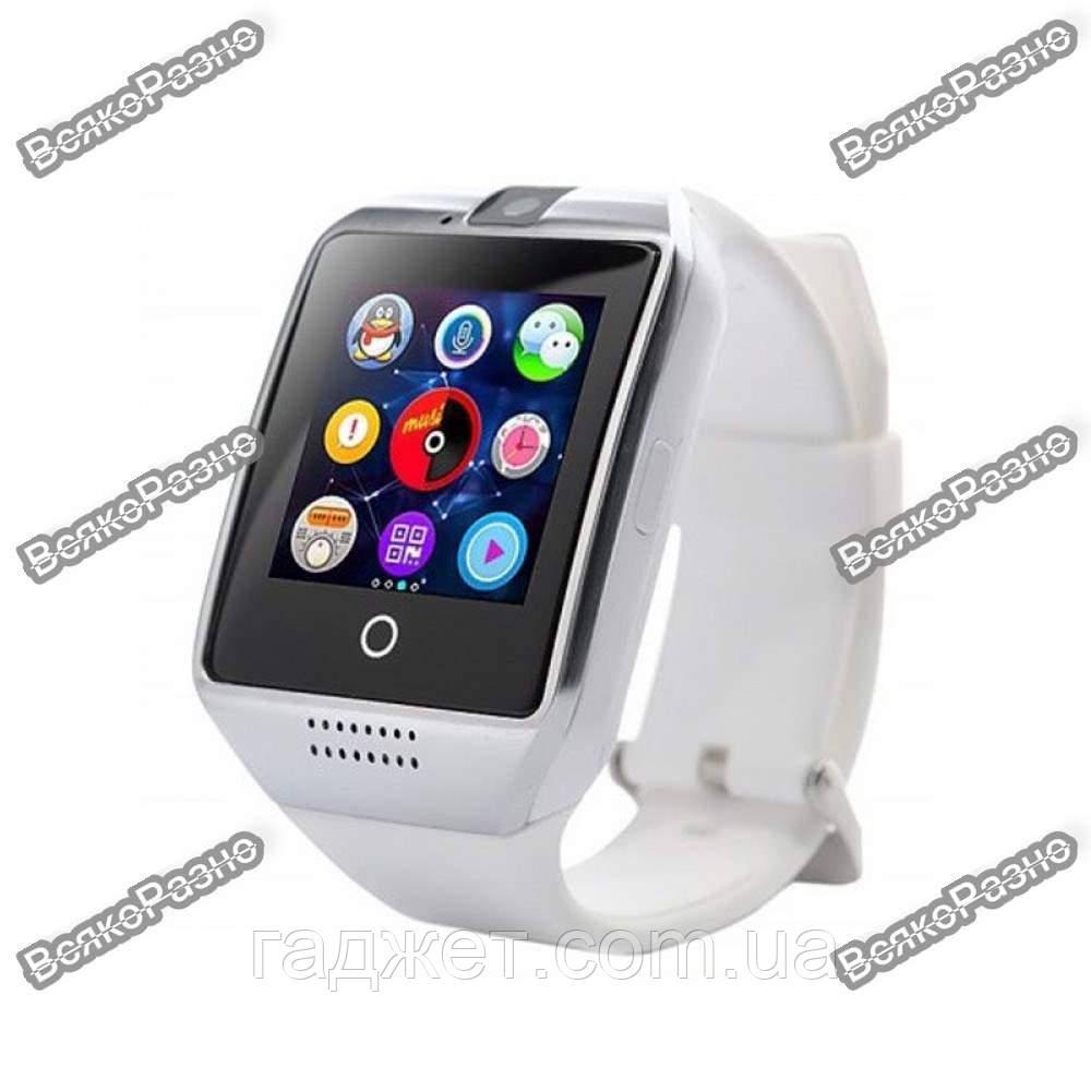 Смарт Часы, часофон Q18 белого цвета + коробка. Smart Q18 White