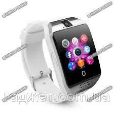 Смарт Часы, часофон Q18 белого цвета + коробка. Smart Q18 White, фото 2