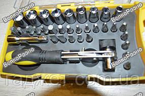 Ключ с насадками и удлинителем 34 предмета