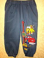 Спортивные штаны детские для мальчика Тачки