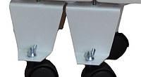 Подставки с роликами для электрорадиатора Оптимакс