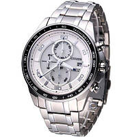 Часы Citizen CA0341-52A Eco-Drive Super Titanium Sapphire Chronograph -MADE IN JAPAN-
