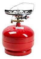 Газовый комплект Rk-2 (2,6kw/пьезо) Пикник-Italy 5л Rudyy