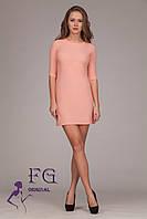 """Платье """"Darling"""" - распродажа модели 46, персиковый"""
