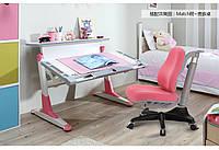 Комплект парта трансформер TH333 + детское кресло Y518, COMF-PRO, разные цвета
