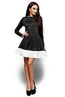 Платье теплое свободного кроя Инга, фото 1