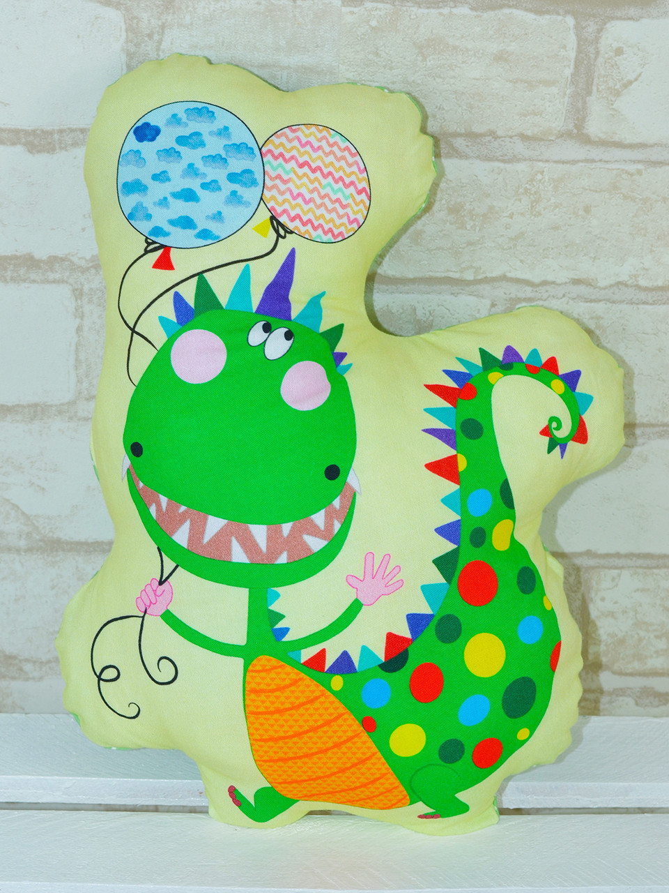 Подушка-игрушка «Дракончик», Loskutini