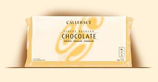"""Белый шоколад без сахара  """"MALCHOC-W-123 (плитка 5 кг) ТМ """"Barry Callebaut Belgium"""""""