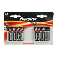 Алкалиновая батарейка Energizer Power AA LR-6 8 шт Блистер