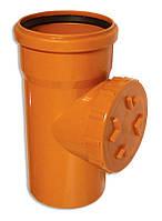 Ревизия для наружной канализации 110 мм Мпласт