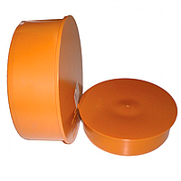 Заглушка для наружной канализации 160 мм Мпласт