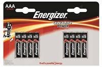 Алкалиновая батарейка Energizer Power AAA LR-3 8 шт Блистер