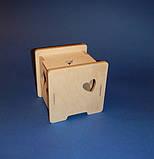 Развивающая игрушка КУБ заготовка для декупажа и декора, фото 4