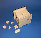 Развивающая игрушка КУБ заготовка для декупажа и декора, фото 5