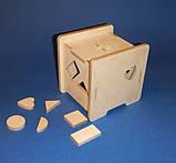 Развивающая игрушка КУБ заготовка для декупажа и декора, фото 6